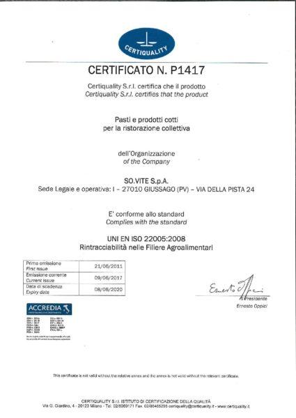 UNI EN ISO 22005 - 2008